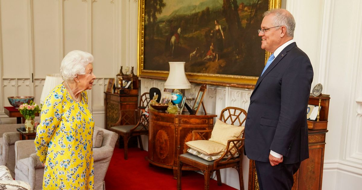Queen holds face-to-face audience with Australian PM Scott Morrison