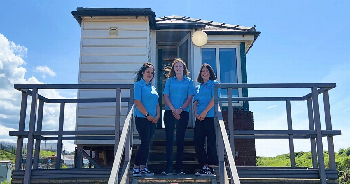 Railway signal box first since WWII manned entirely by women