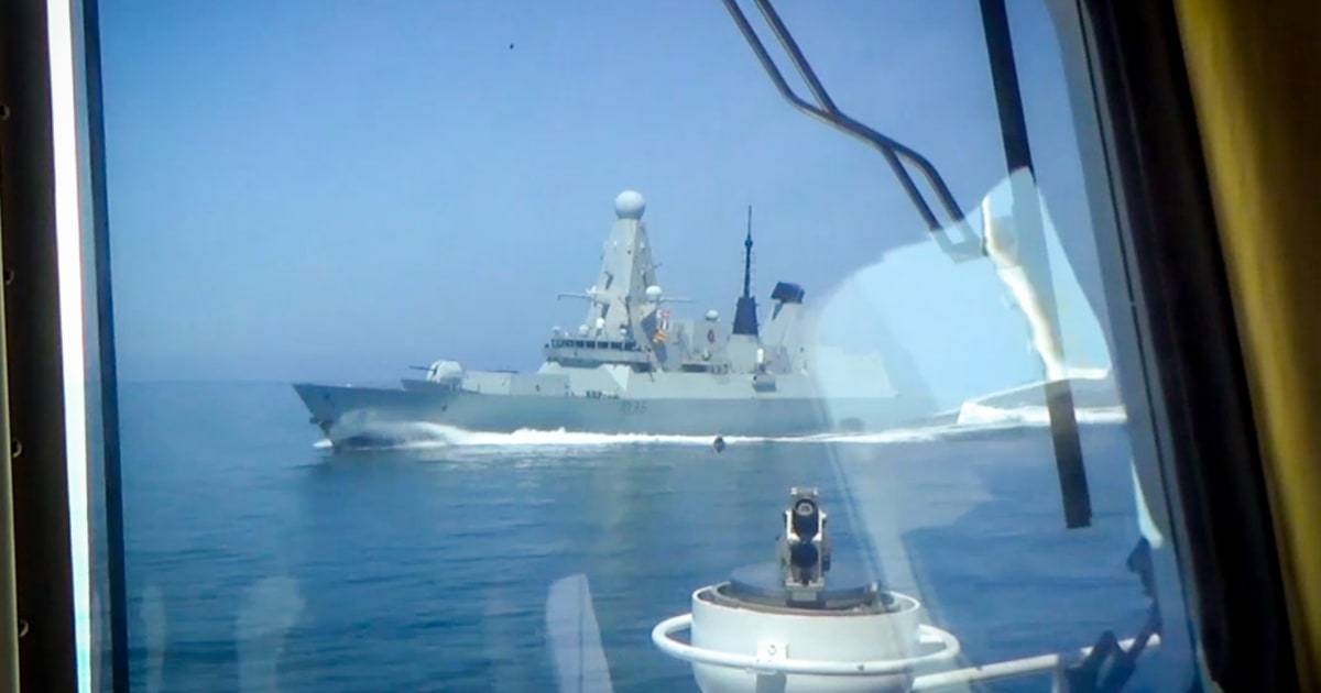 Russia says it may fire on warships after Black Sea incident with U.K. destroyer