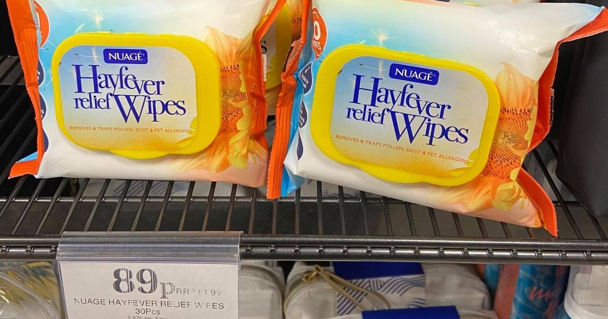 Shoppers angry at hay fever wipes that could damage environment