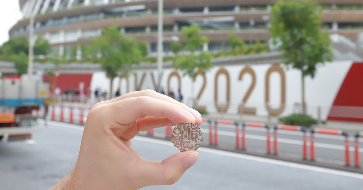 Team GB 50p coin released ahead of Olympic Games in Tokyo