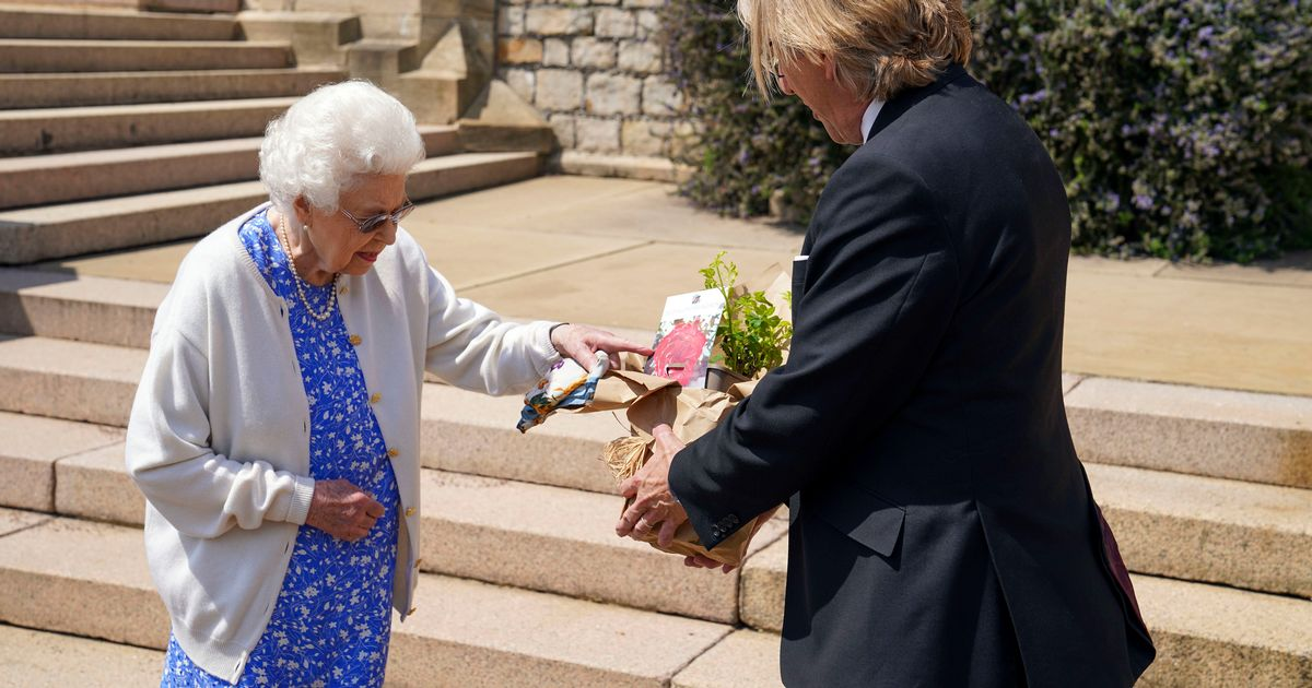 The Queen gifted newly-bred rose in Philip's memory