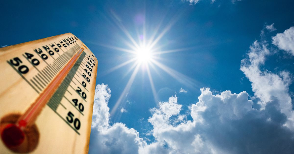 UK's hottest day of 2021 so far as temperatures hit 28.6C