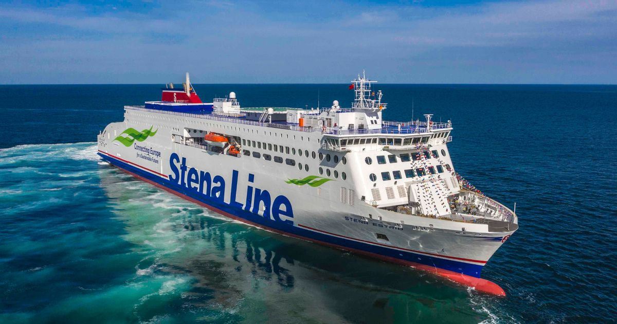 Wales-Northern Ireland ferry route launched amid 'strong demand' for sailings