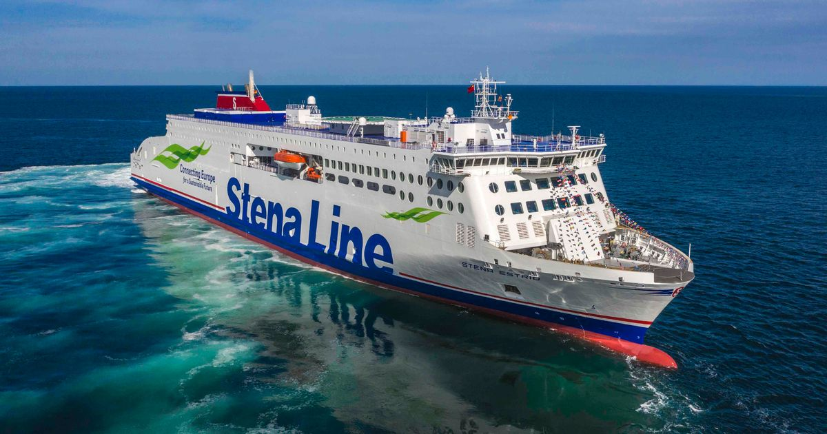 Wales-Northern Ireland ferry route launched