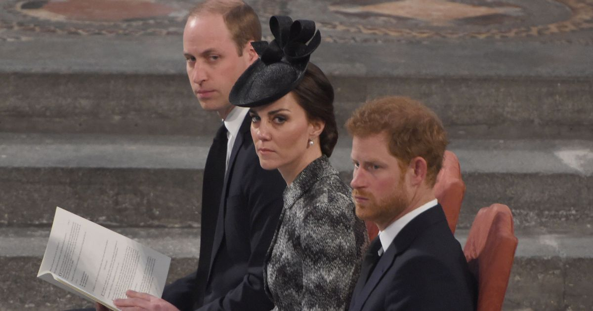 William and Harry 'tensions' for Kate to ease at upcoming Diana statue event