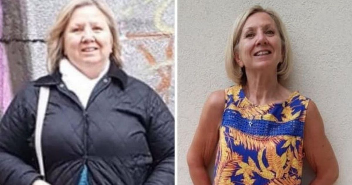 Woman loses more than 7 stone thanks to small changes to her lifestyle
