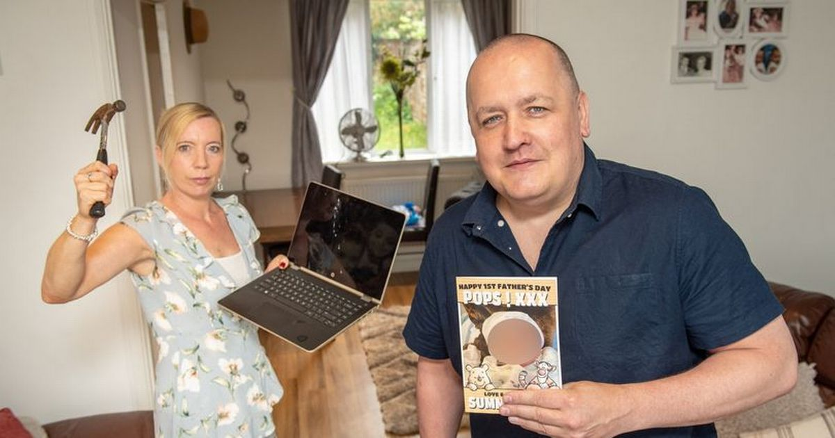 Woman smashes man's TV and laptop after Funky Pigeon Father's Day gaffe