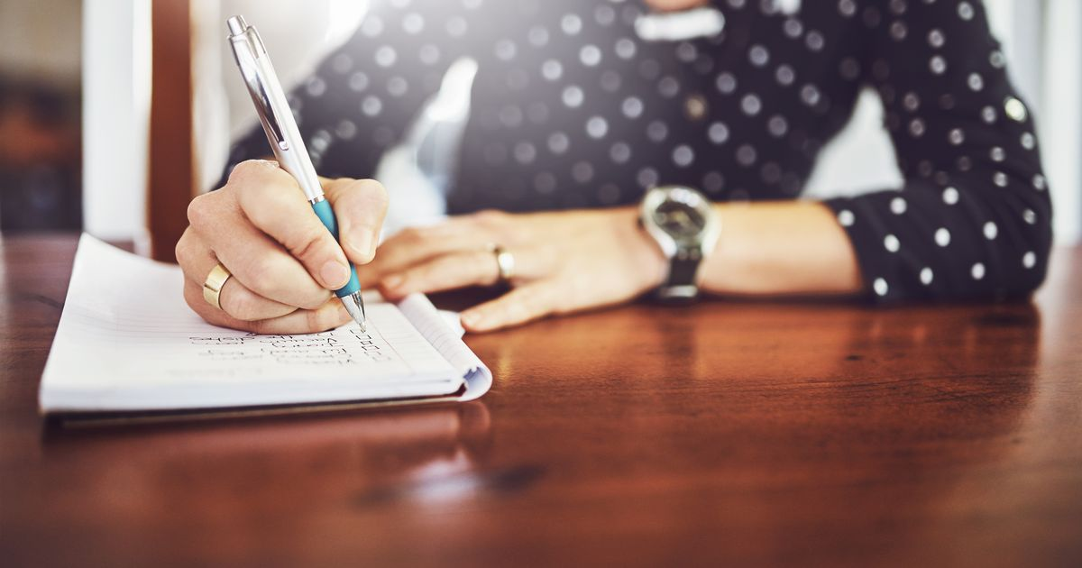 Writing can improve your mental health