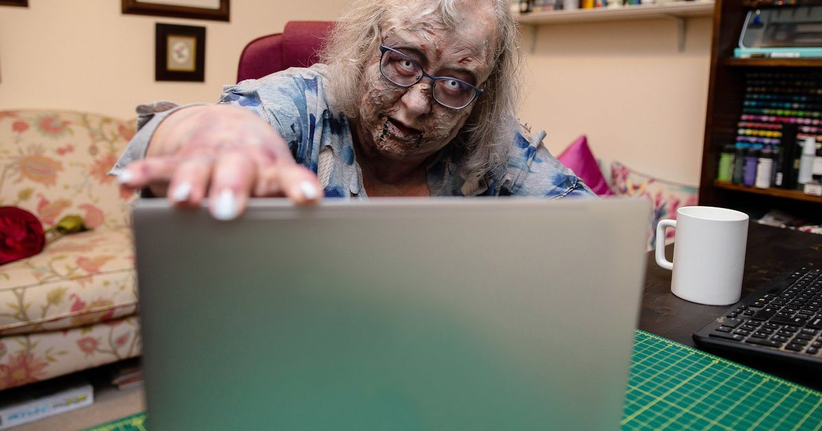 Zombie Jackie Weaver has the authority to sub for you in a Zoom call