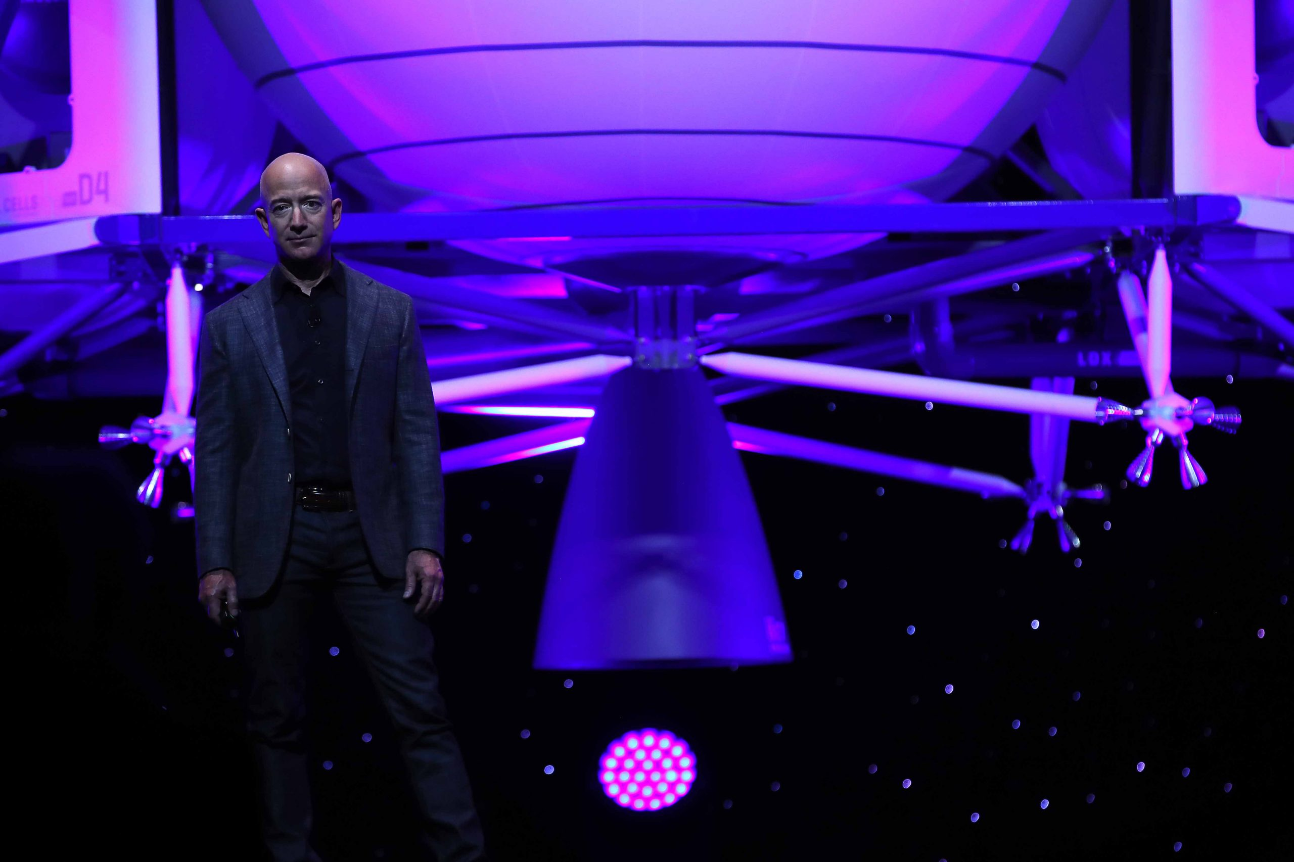 'A much grander human destiny': For Jeff Bezos, space travel is about more than tourism