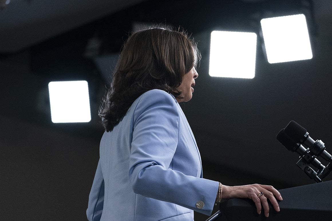 'Not a healthy environment': Kamala Harris' office rife with dissent