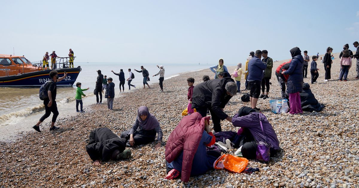 'Freedom Day' sees record number of migrants cross Channel