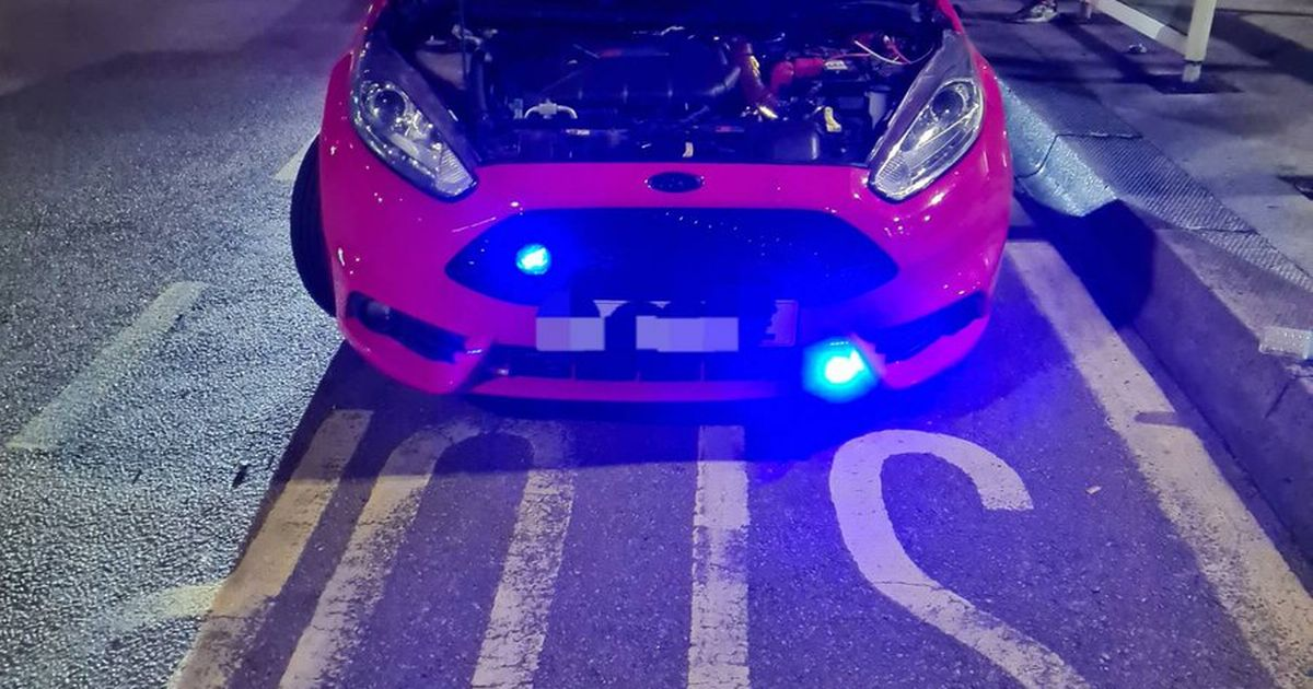 'Illegal street race' vehicle seized by West Midlands Police