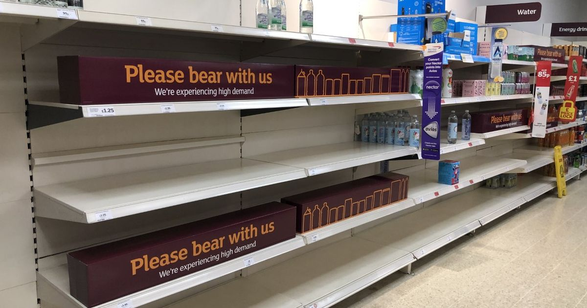 'Perfect storm' of events causing gaps on supermarket shelves