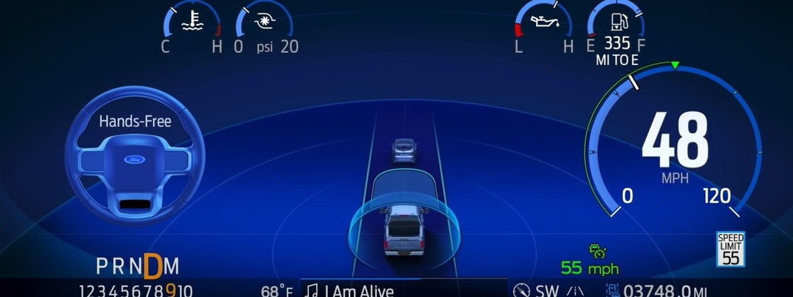 General Motors Sues Ford for Use of Term 'Cruise' in Autonomous System