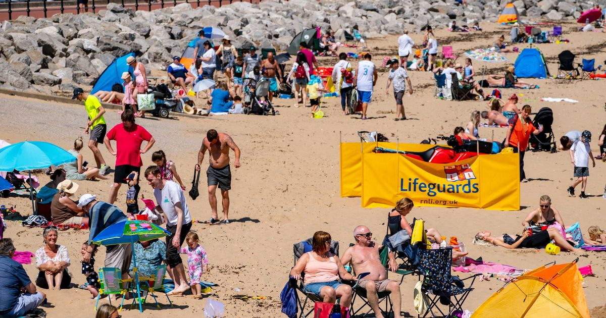 At least three dead after being pulled from water on hottest day