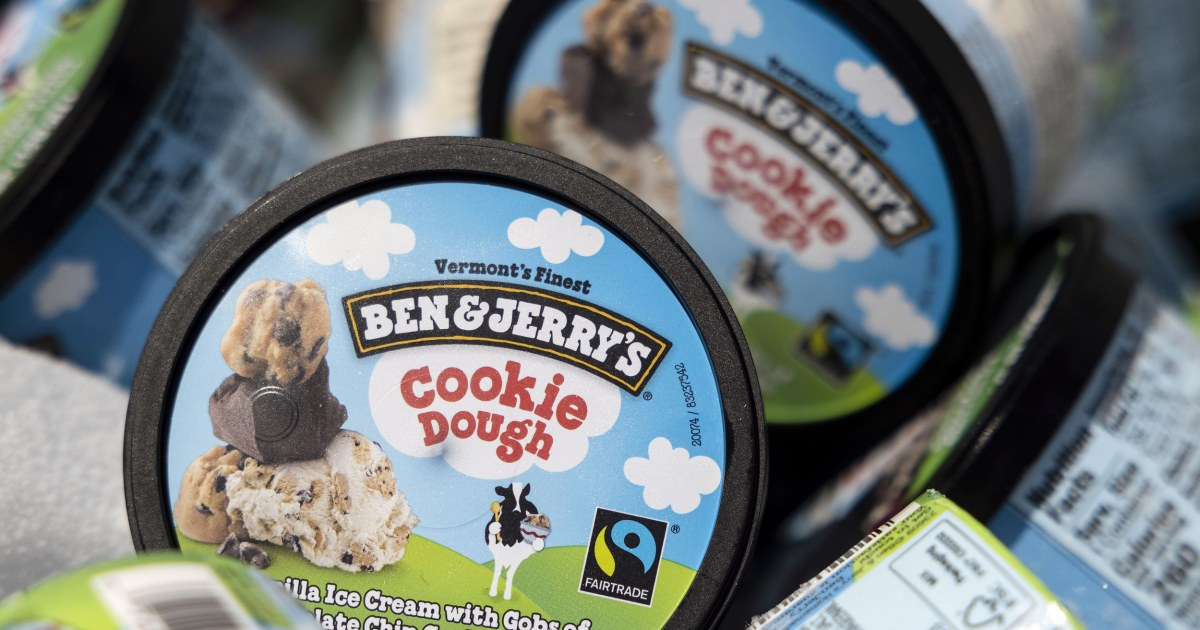 Ben & Jerry's withdraws sales from Israeli settlements but clashes with parent company Unilever