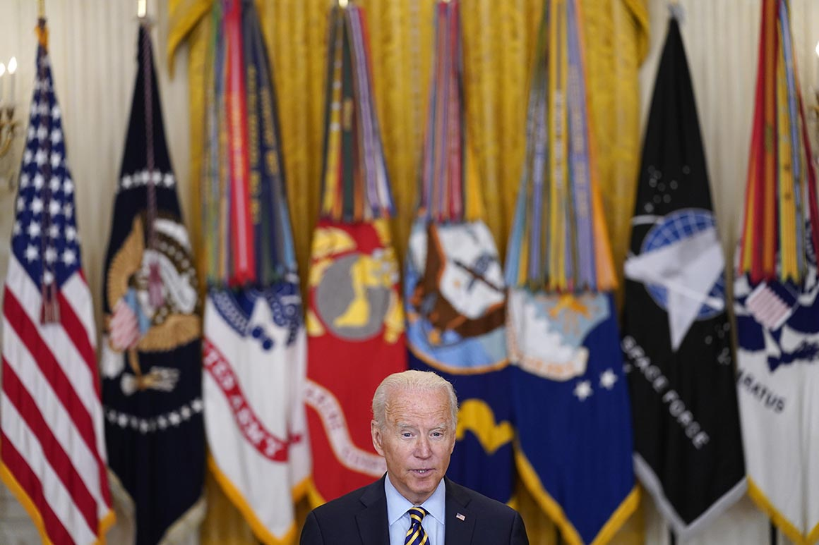 Biden takes calculated political risk on Afghanistan withdrawal