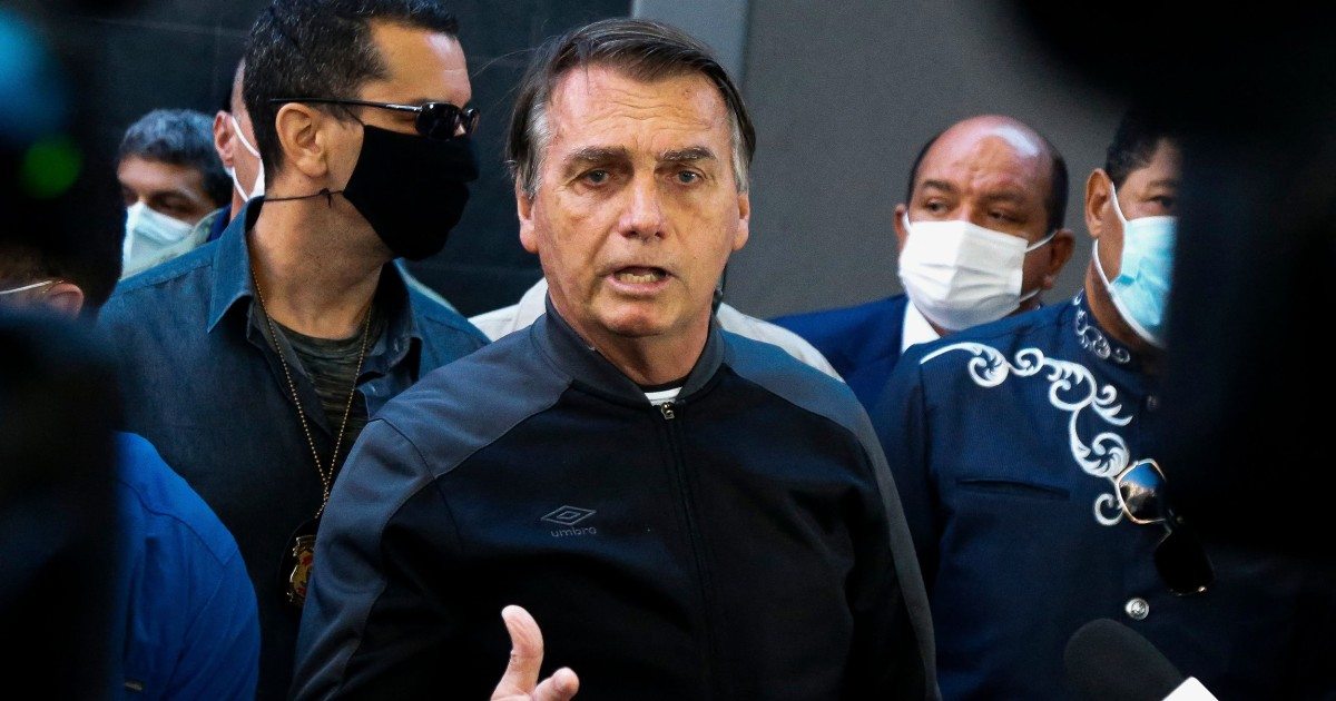 Brazil's Bolsonaro leaves hospital after treatment for intestinal issue, hiccups