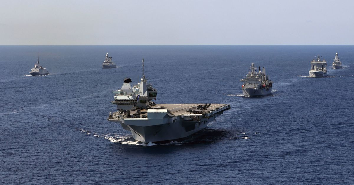 China threatens British warships and vows hostile welcome in disputed sea