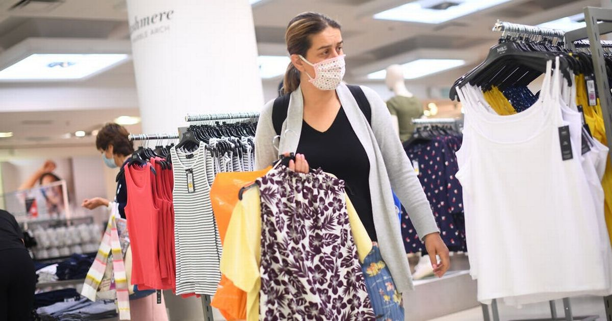 Clothing and food prices fall sharply