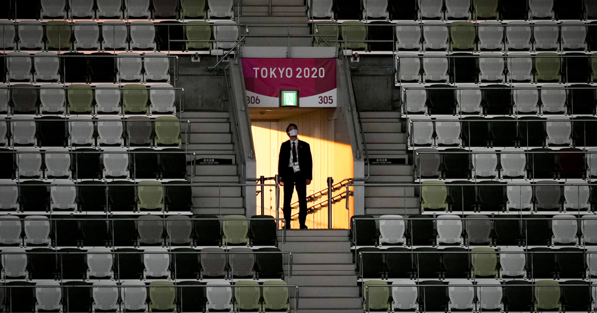 Empty Tokyo Olympic Stadium is the center of the sports universe