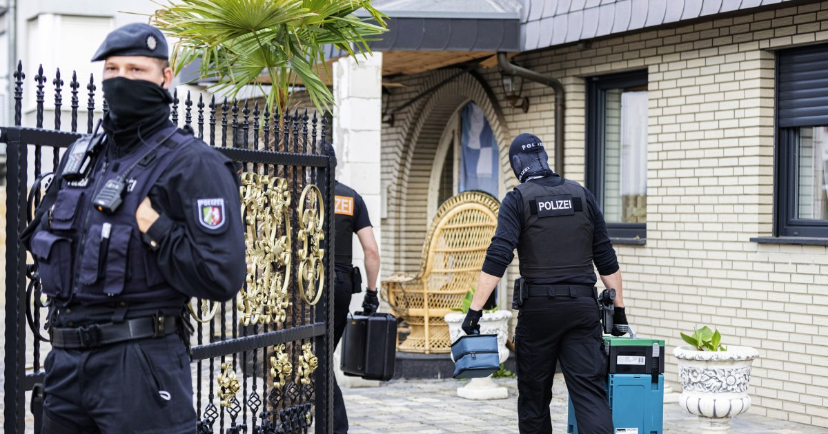 Encrypted chat data leads to major drug raids in Germany