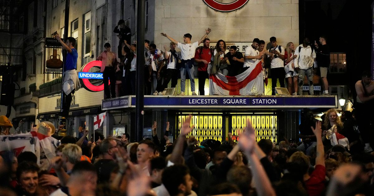 England fans must celebrate 'within the law' or face action, police warn