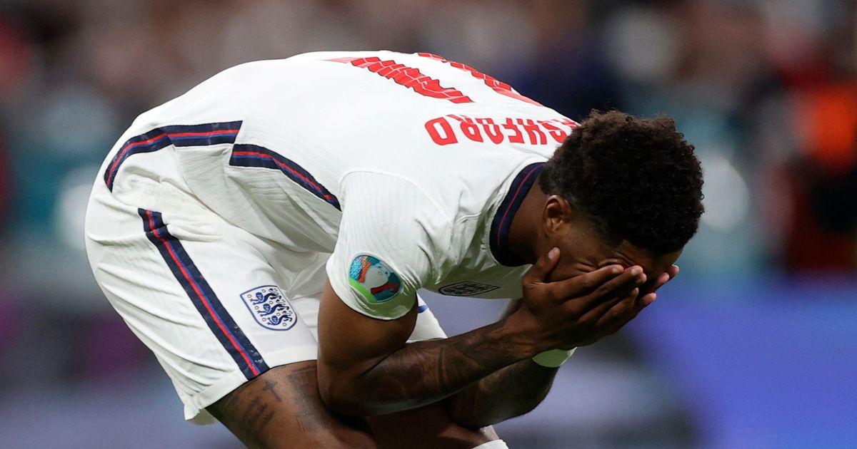 FA condemns 'appalling' racist abuse of England stars
