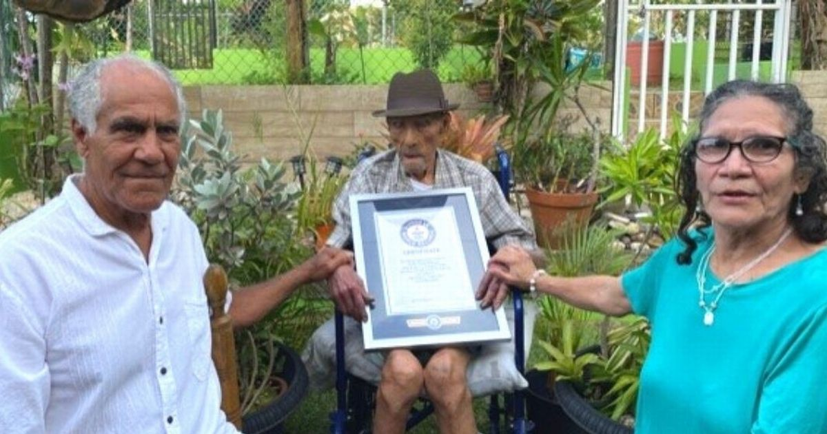 Farmer sets world record as oldest living man weeks before 113th birthday