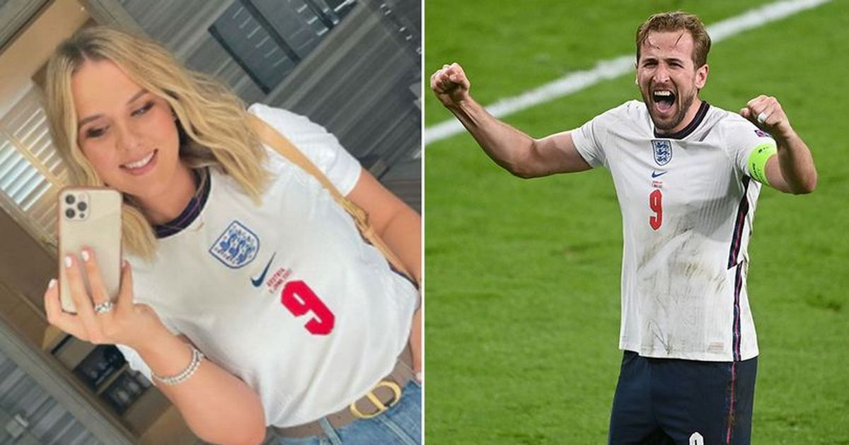Harry Kane's wife shares emotional letter to husband before final