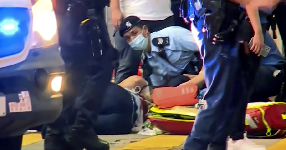 Hong Kong policeman was stabbed in 'lone wolf' attack: security chief