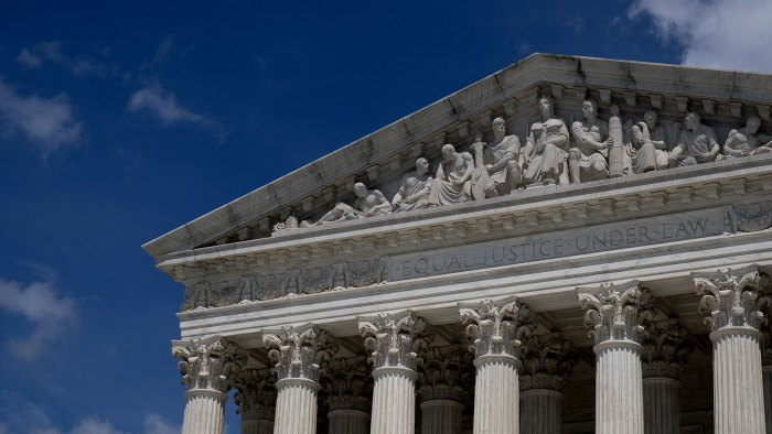 How A 6-3 Conservative Majority Shaped The Supreme Court This Term
