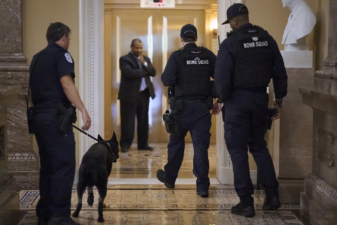 Impasse over Capitol Police funding continues as officers face cash crunch