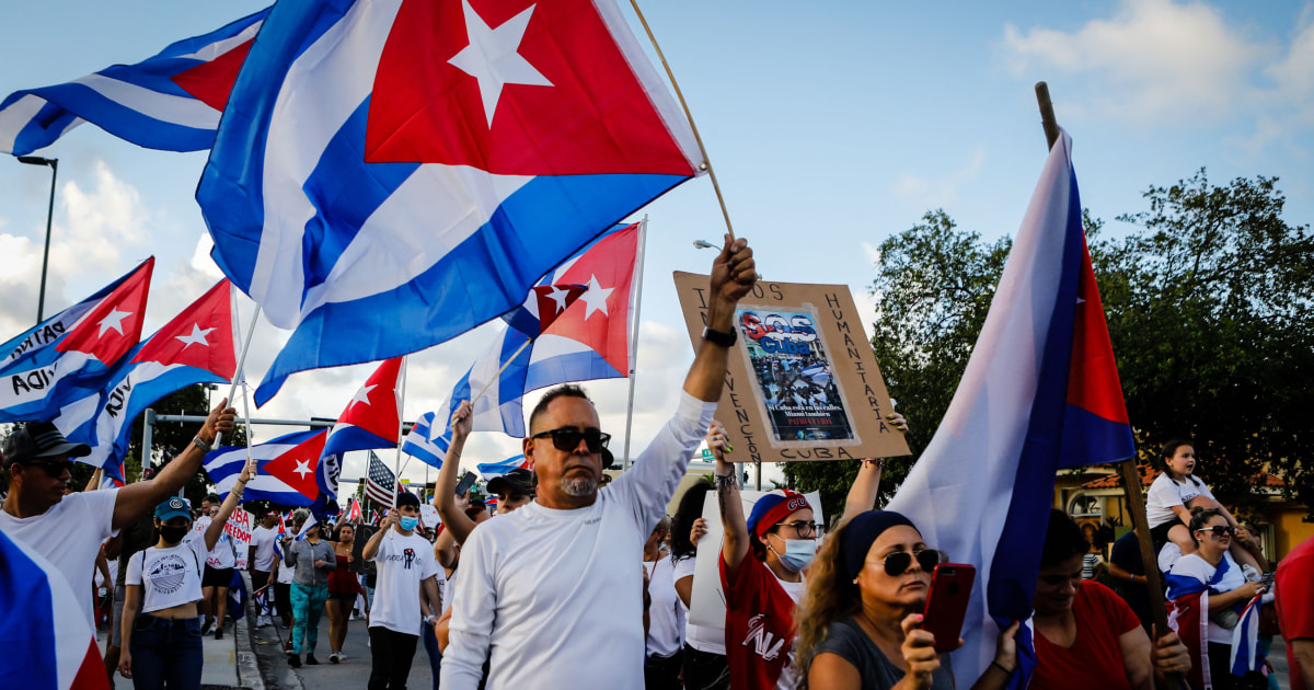 It's about 'freedom': Cuban Americans say shortages don't explain protests