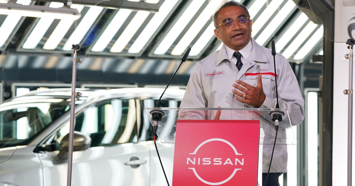 Jobs boost as Nissan to build new electric car and battery plant in UK