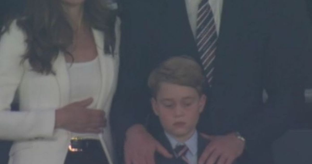 Kate Middleton's heart-warming gesture to Prince George after England defeat