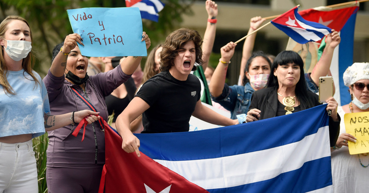 Latin America's response to Cuba protests split along ideological, political lines