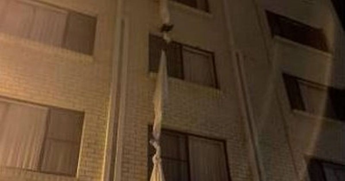 Man tied bedsheets to climb out of window and escape Covid hotel quarantine