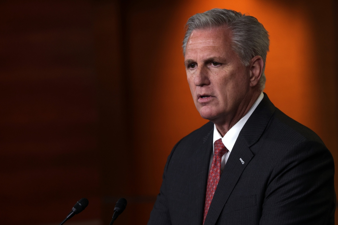 McCarthy not yet sold on naming Republicans to Jan. 6 investigation