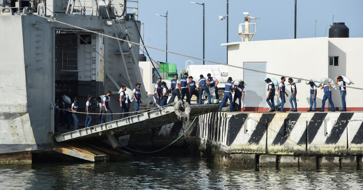 Mexico is sending navy ships with food, medicines to Cuba
