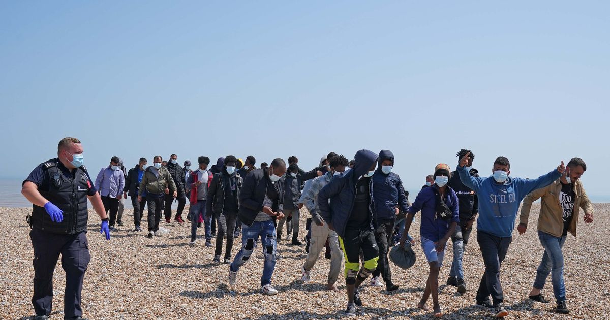 More people have made English Channel crossing this year than in all of 2020