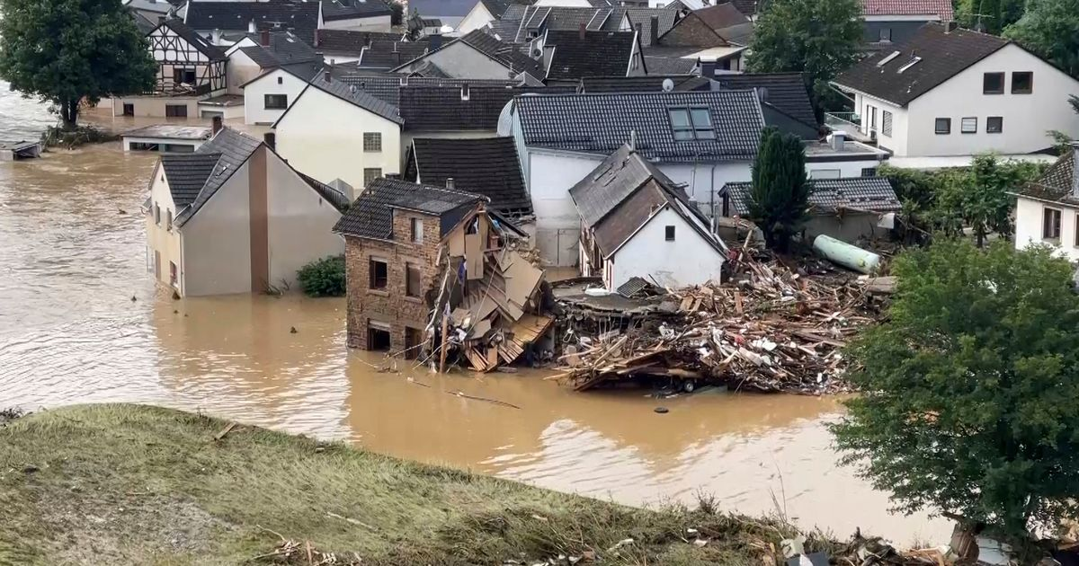 More than 60 dead and dozens missing in heavy floods in Germany and Belgium
