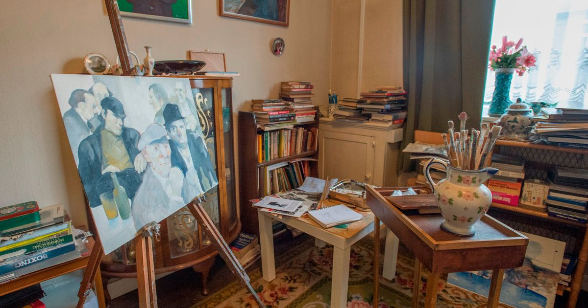 Paintings by 'secret artist' unearthed at man's house after his death
