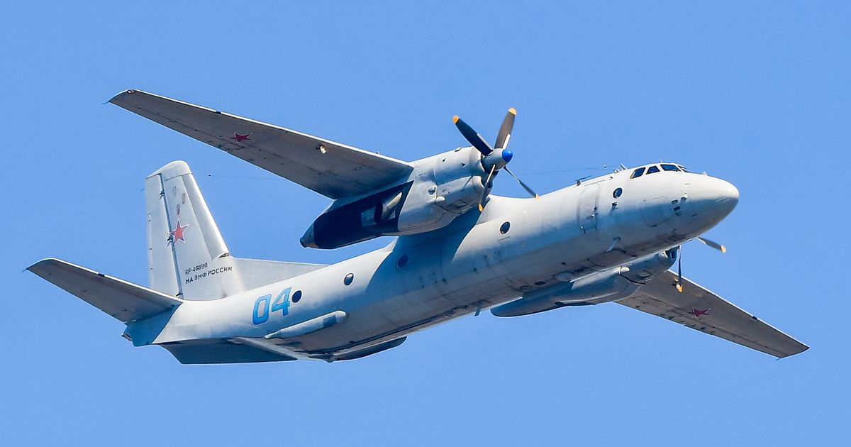 Plane carrying 28 people crashes into sea after vanishing from radar