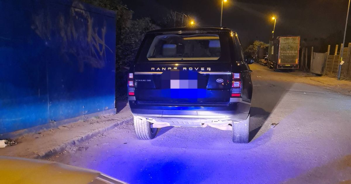 Police seize Range Rover spotted at illegal street races