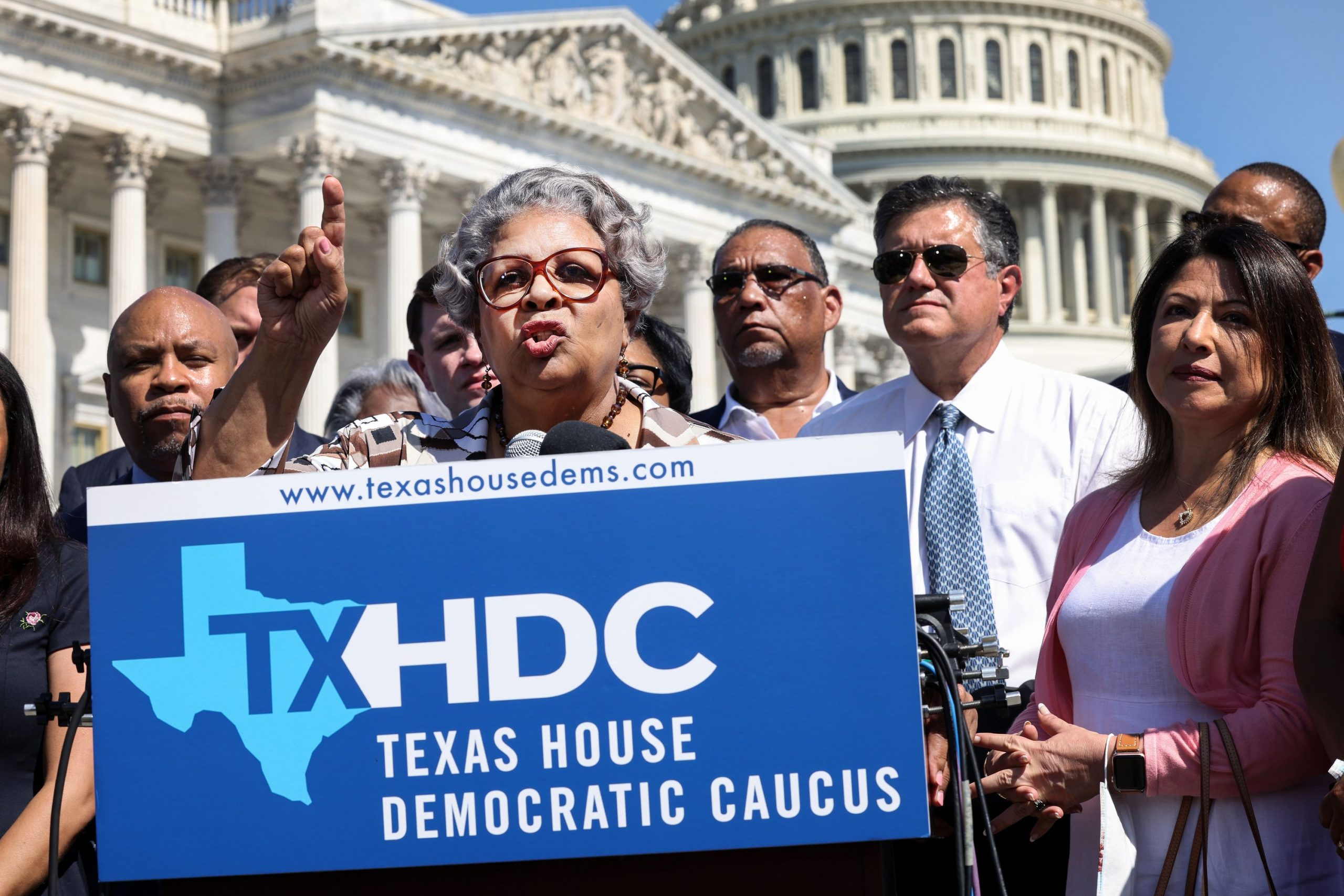 Postponed Weddings, Stockpiled Insulin and Covid: The Bizarre Life of Texas Democrats in Exile
