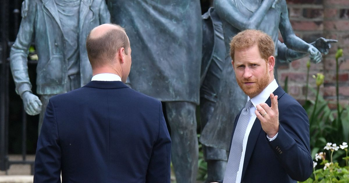 Prince Harry's cheeky question over Princess Diana statue revealed
