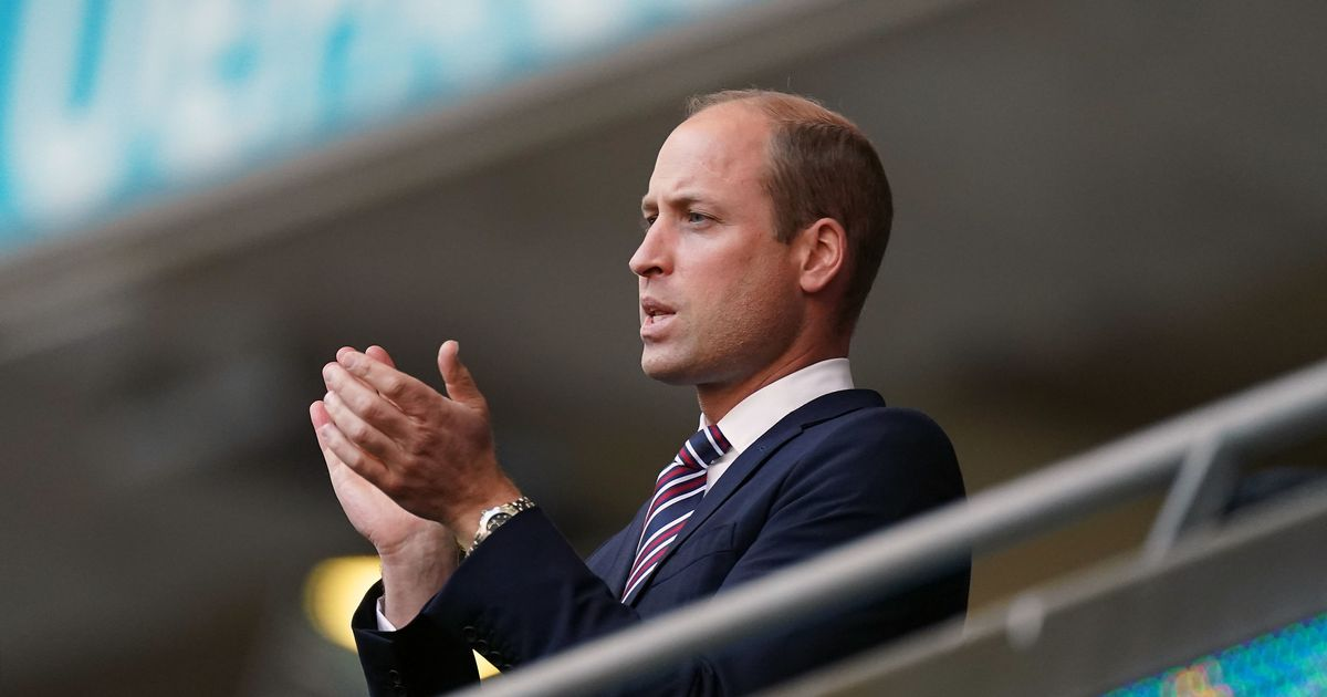 Prince William 'so excited' by England clash